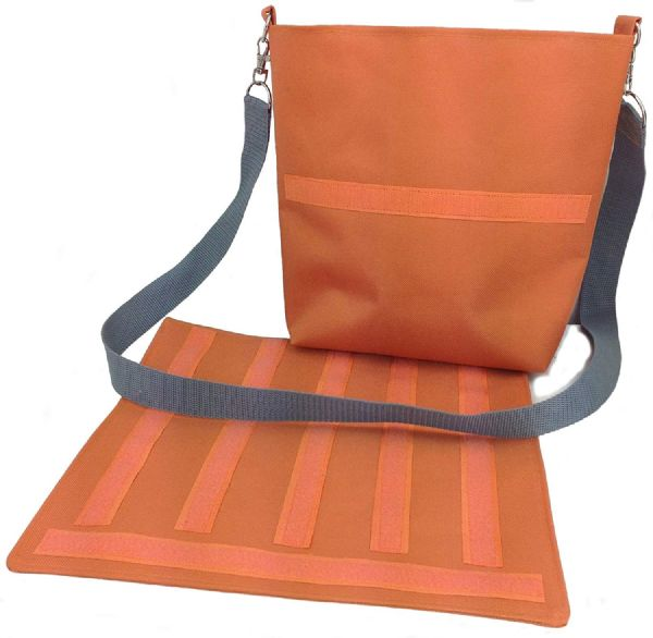 Communication Choice Board Kit Bag in Orange